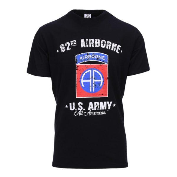 133624 t-shirt airborne nero