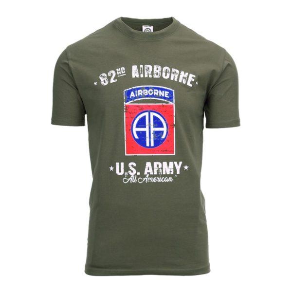 t-shirt verde aairborne